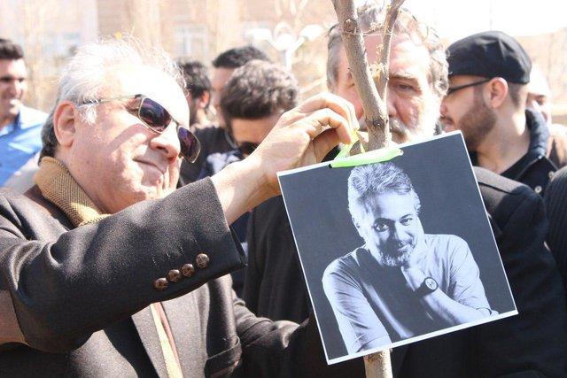 کاشت نهال به نام زندهیاد حسن جوهرچی