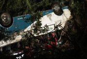 سقوط اتوبوس در اکوادر باعث مرگ 12 نفر شد
