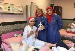 ایجاد شخصیت خاله نخودی برای کمک به کودکان بیمار