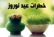 خطراتی که در عید نوروز شما را تهدید میکنند