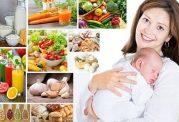 برای مادران شیرده چه رژیم غذایی وجود دارد؟
