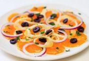 سالادی سرشار از ویتامین C برای سرما خوردگی