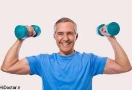 زدن وزنه های سبک هم عضله می سازد
