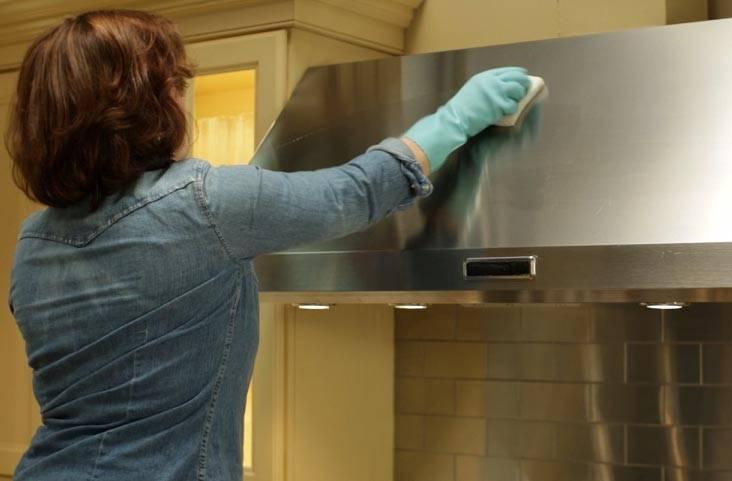 هود آشپزخانه خود را در کمترین زمان تمیز کنید