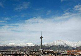 وضعیت سالم آب و هوایی در پایتخت
