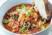 دستور تهیه سوپ مینسترونه خوراکی مقوی برای تقویت کلیه