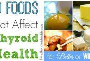 خوراکی های مناسب برای بیماران تیروئیدی