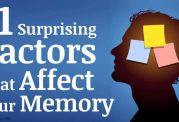 عوامل تاثیرگذار در ایجاد ضعف و اختلال در حافظه