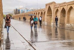 تداوم بارش ها در 24 استان کشور