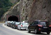 ترافیک نیمه سنگین پس از تعطیلات در چند محور مواصلاتی