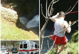 سلفی باعث سقوط مرد جوان به آبشار شد