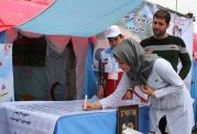ارائه خدمات درمانی امداد و نجات هلال احمر در ایام نوروز
