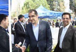 دیدار نوروزی وزیر بهداشت با کارمندان دانشگاه علوم پزشکی تهران