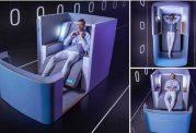 ساخت راحت ترین صندلی هواپیما