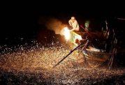 تله انفجاری برای صید ماهی