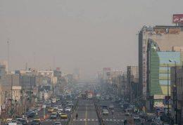 هوای تهران در آستانه شرایط نامطلوب