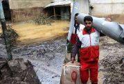 اقدامات امدادی هلال احمر در مناطق سیل زده