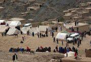 خسارات ناشی از زمین لرزه در قرقیزستان