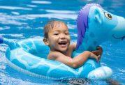 وسایل شنای خطرساز برای کودکان