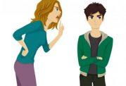 تغییرات رفتاری فرزندان به والدین