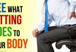 سلامتی افراد پشت میز نشین در خطر است