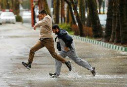 بارندگی در 15 استان کشور
