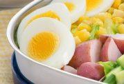 سبزیجات را با تخم مرغ بخورید!!