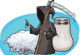 سلامتی را زیر تیغ نمک قرار ندهید!
