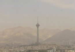 تهران در وضعیت هوای ناسالم