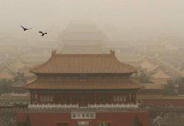 وقوع طوفان شن در پکن