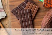 عاشق شکلات و چیپس هستید؟ شاید تقصیر ژن شماست!
