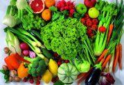 مقایسه خواص تغذیه ای میوه ها و سبزیجات