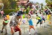 آب بازی برای کودکان معجزه آسا است