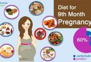 تغذیه ماه نهم بارداری