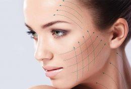 زاویه دار کردن فک و صورت با امواج رادیوئی و تزریق ژل