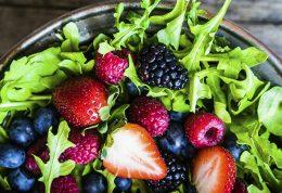 کاهش حرارت بدن با خوردنی های سالم
