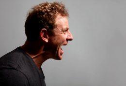 بررسی احساسات افراد خشمگین