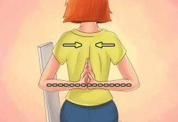 رفع خمیدگی و قوز کمر با تمرینات خانگی