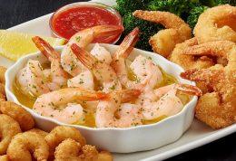 پرخاصیتترین غذای دریایی میگو است