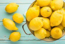 لیمو ترش اکسیر سلامتی در یخچال شما
