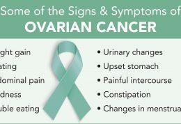 همه نشانه های ابتلا به سرطان تخمدان