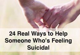 روش های دور کردن افکار خودکشی