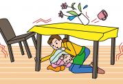 اگر هنگام زلزله در خانه بودید، این توصیه ها را رعایت کنید