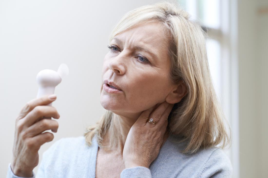 مشکلات تنفسی در زنان یائسه