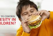 مقابله با چاقی در خردسالان