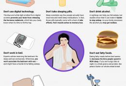 موارد اثرگذار بر کیفیت خواب