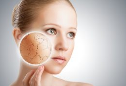 درمان خانگی خشکی پوست