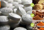 مواد غذایی طبیعی جایگزین آسپرین
