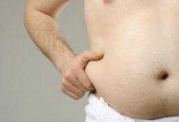 پیامدهای چاقی شکمی برای مردان