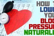 10 روش برای بیماران فشار خون بالا بدون دارو